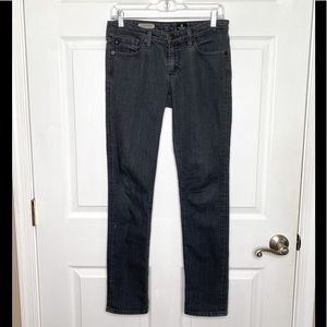 Ag Adrianno Goldschmied The Stevie Jeans Slim Grey